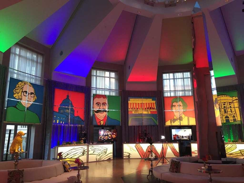 Ronald Reagan Building Channels Iconic D.C. via Pop Art at 2016 Sparkle Lounge