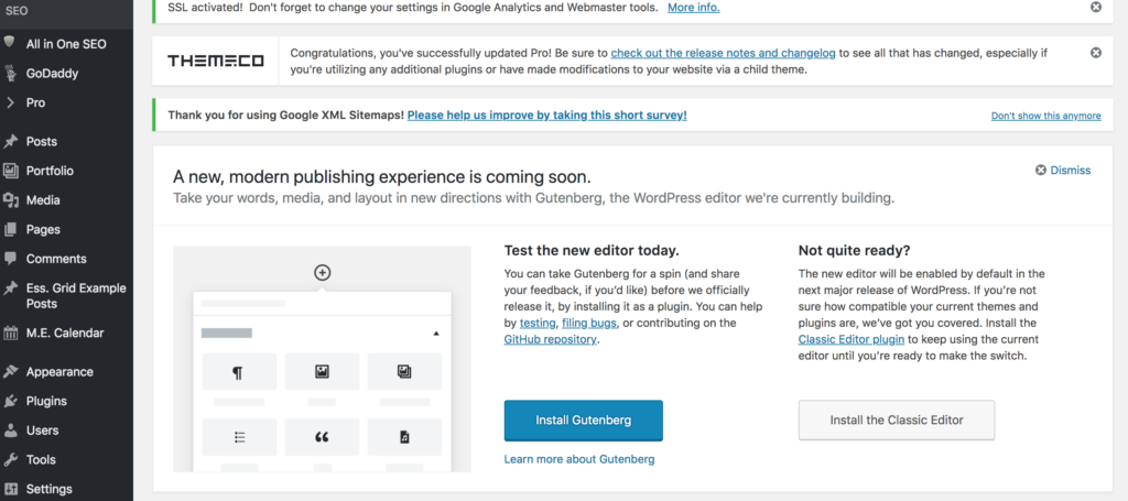 WordPress Is Finally Testing A Front-End Editor But Is It Too Little, Too Late?